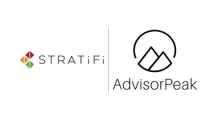 StratiFi & AdvisorPeak Partner