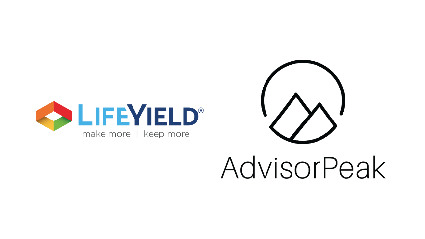 LifeYield Fortifies AdvisorPeak With Partnership